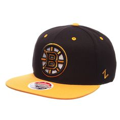44a87d1169a Zephyr Bruins Z11 Cap Black. Compare prices on Boston Bruins Snapback ...
