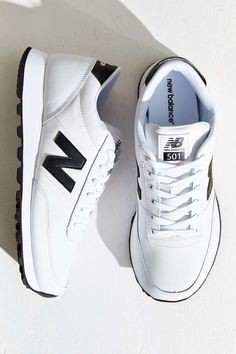 New Balance Leather Running Sneaker