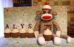 Amazing Sock Monkey Cake
