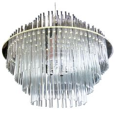 1stdibs - Lucite and Glass Rod Chandelier by Lightolier explore items from 1,700  global dealers at 1stdibs.com