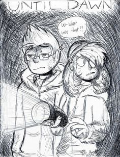I probably got the designs wrong lol Art - Me Until Dawn - Sony Computer Entertainment/Supermassive Games