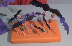 Centro de mesa para Halloween http://ini.es/1v85SZj #CentroDeMesa, #DIY, #Halloween, #Manualidades, #Murciélagos