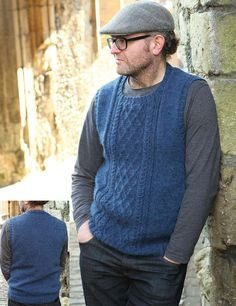 Men's vest knitting pattern free