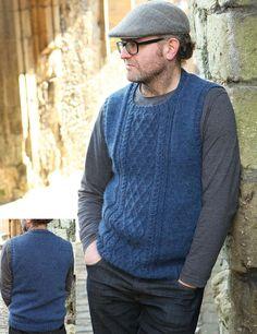 Men's vest knitting pattern free