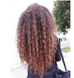 fancyget Brazilian Human Hair Wigs Kinky Curly Ombre Blonde Lace Front Full Lace Wig - March 23 2019 at Curly Hair Tips, Long Curly Hair, Curly Hair Styles, Natural Hair Styles, Wavy Hair, Frizzy Hair, Long Curly Weave, Updo Curly, Kinky Hair