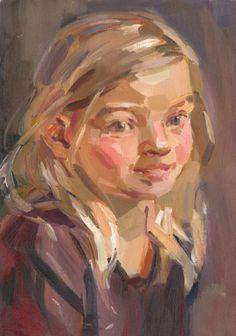 meisje met blonde haren