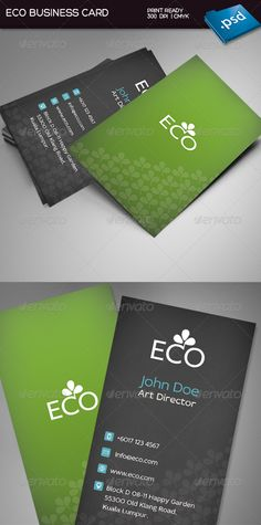 Customizable Green Ecology Bio - Elegant Organic Recyclable ...