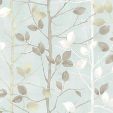 Arthouse Woodland Duck Egg Wallpaper 630700