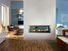 modern fireplaces | Modern Fireplace Design Ideas to Fuel Gas by Attica modern fireplace ...