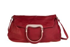 Wine Red Leather Tote Bag / Women Leather Messenger Bag / Cross Body Bag / Casual Leather Purse / Lined Leather Bag / Every Day Bag - Sigma