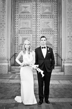 1920s Groom + Bride