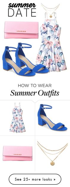 """A Summer Date Night Outfit"" by janaenae0223 on Polyvore featuring Hollister Co., ALDO and Michael Kors"