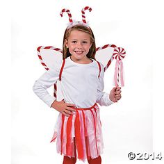 Peppermint Fairy Costume for Kids - Oriental Trading