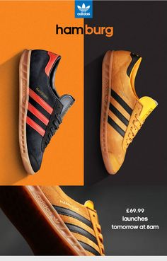 sports shoes e2bae 90027 adidas Originals Hamburg - I m a big fan of the gum sole.