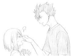Kuroo and Yachi, omg