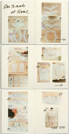"""make your own margiela sock sweater!! courtesy of """"A magazine curated by MMM"""""""