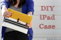 DIY iPad Case from padded mailer