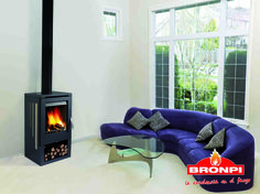Estufa de leña Bronpi Petra-T Stove, Home Appliances, Firewood, Wood Stoves, Woodwind Instrument, House Appliances, Range, Appliances, Hearth Pad