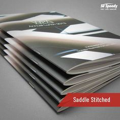 Types of Book Binding-Saddle Stitched Types Of Books, Sign Printing, Book Binding, Stitch, Full Stop, Stitching, Sew, Bookbinding, Stitches