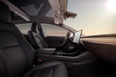 Tesla Model 3 News Roundup: Keycard For Entry, Design Studio Screenshots, & Steering Wheel Controls