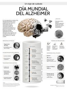 Alzheimer, cada cuatro segundos un caso en el mundo #INFOGRAFÍA
