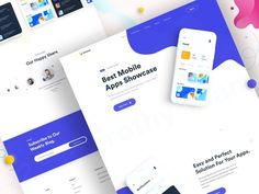 App Landing Page Design designed by Imran Molla for DroitLab. Connect with them on Dribbble; the global community for designers and creative professionals. App Landing Page, Landing Page Design, Web Design, Creative Design, Best Mobile Apps, Text Icons, Creer Un Site Web, Neutral Color Scheme, Branding