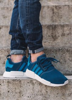 bhguaz Men\'s adidas NMD Runner Shoes Blackout | Adidas NMD Shoes Copie