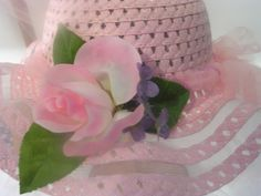 Little Girl's Tea Party and Dress-up Hats