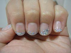 Wedding nails by surfgirl, via Flickr