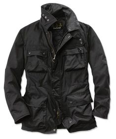 Barbour jacket.