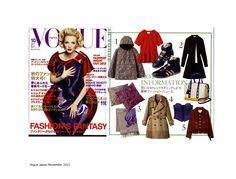 Myriam Schaefer Vogue Japan 2012