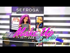 by request: You asked for it! ... You got it! Check out this Fabsome Doll Make-Up Counter! ... Now your Dolls can go shopping for their Favorite Colors!!  S...