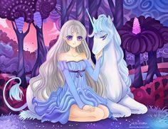 +The Last Unicorn+ by larienne.deviantart.com on @deviantART