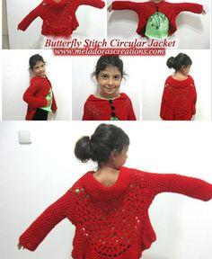 Butterfly stitch circular Jacket Pinterest Pic