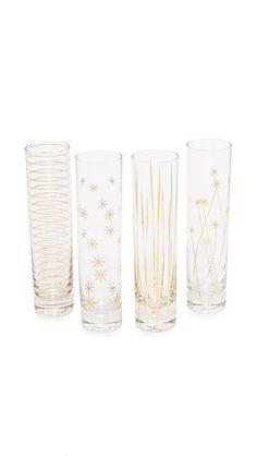 e0344c48948c Assorted Set of 4 Champagne Flutes
