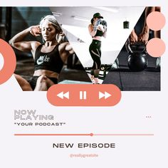 Promoting your podcast on Instagram? Here is an Instagram Post Template that you can use and easily edit on Canva! Instagram Feed, Instagram Posts, Instagram Post Template, Business Branding, Gym Workouts, Design Basics, Creative Skills, Gym Fitness, Female