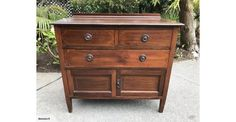 Edwardian Sheraton Revival chest of drawers | Trade Me