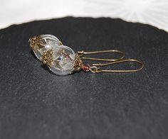 Ohrhänger - Lange Pusteblume Ohrringe - ein Designerstück von Mirakel1807 bei DaWanda