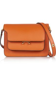 Marni Trunk mini leather shoulder bag   NET-A-PORTER