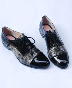 Oooooh....Aaaaaah.... oxfords are a great choice for the office.  Both stylish and comfy!