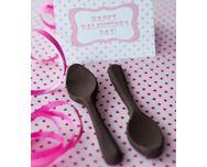 Saint-Valentin - http://www.goosto.fr/recette-de-cuisine/cuilleres-chocolat-10041474.htm
