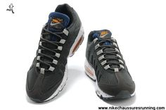 2014 Chaussures Honolulu City Pack Anthracite Blanc Nike Air Max 95 EM Hommes