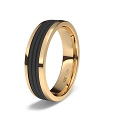 Alianza de oro rojo de 18K modelo Safari #alianzas, #anillosdeboda, #boda, #novias www.cnavarro.com