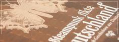 """Cover-Fotografie der Anthologie """"Steampunk Akte Deutschland"""". Erschienen im Art Skript Phantastik Verlag."""