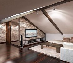 Excellent Attic Rooms Stairs Ideas Jaw-Dropping Ideas: Attic Desk Woods attic renovation i Attic Bedroom Designs, Attic Bedrooms, Attic Design, Interior Design, Bedroom Ideas, Attic Loft, Loft Room, Attic House, Attic Office