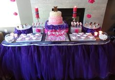 Baby Shower:  Dessert Table