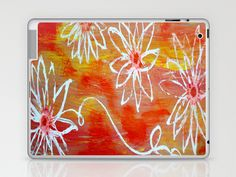 Luminescent Garden Laptop & iPad Skin by kathleentennant - $25.00