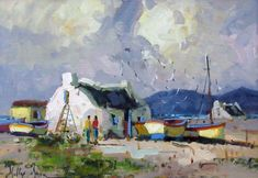 fisherman village scenes - Yahoo Canada Image Search Results Canada Images, South Africa, Projects To Try, Coast, Pastel Paintings, Cottages, Image Search, Buildings, Idea Paint