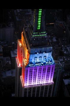 I love this picture of the Empire State Building