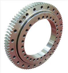 BRS Four point contact ball slewing bearing, for excavator, crane, machine arm